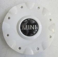 Genuine Used MINI White Centre Cap LA Wheel 8-Spoke 82 for R50 R52 - 6756676 #3