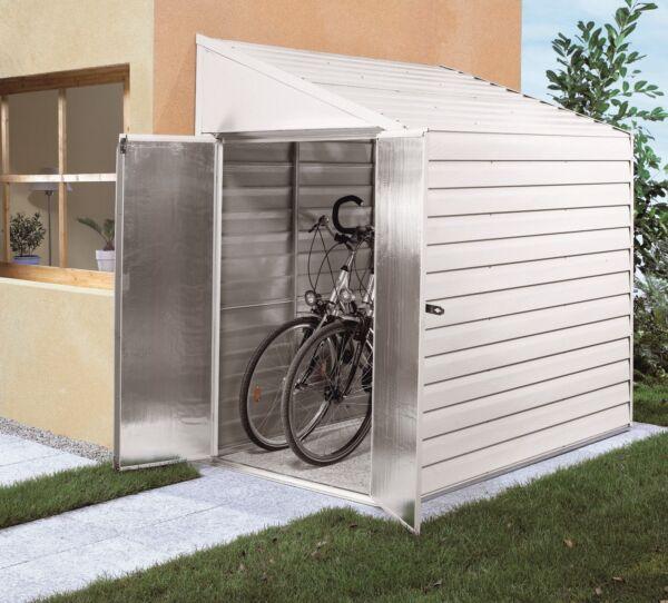 anlehnhaus m nster ger teschuppen modell 47 wei pergart. Black Bedroom Furniture Sets. Home Design Ideas
