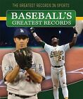 Baseball's Greatest Records by Andrew Pina (Paperback / softback, 2015)