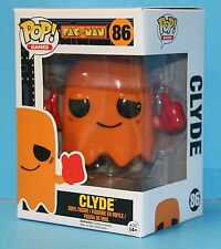 FUNKO POP GAMES PAC -MAN MIB # 86 CLYDE Pop! Vinyl Figure