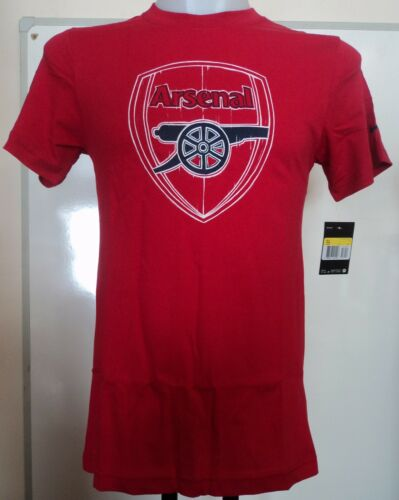 ARSENAL RED BASIC CORE TEE BY NIKE ADULTS SIZE LARGE BRAND NEW WITH TAGS