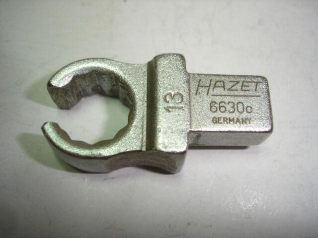 HAZET Einsteck- Leitungsschlüssel 6630c-13 Einsteck-Vierkant 9 x 12 mm