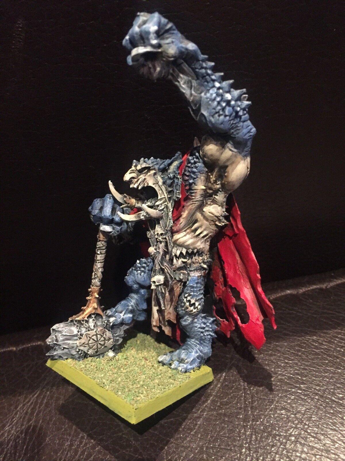 Throgg the Troll King - Warhammer Fantasy   AoS Chaos   Destruction OOP