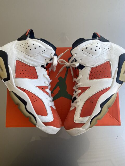 Nike Air Jordan 6 VI Retro Gatorade Like Mike White Orange 384664-145 Size 9