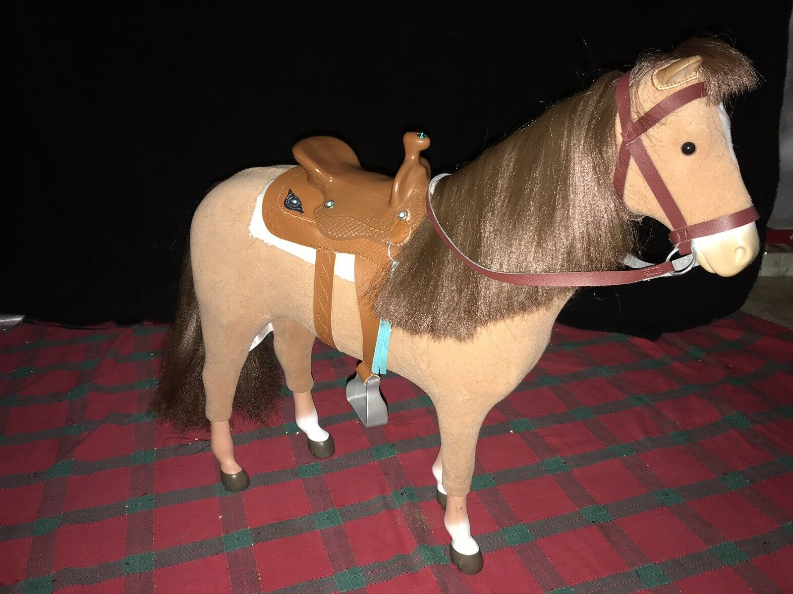 American Girl Doll Horse And Sadles