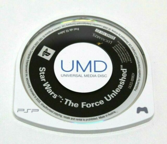 Sony PSP - Star Wars: The force Unleashed - PAL