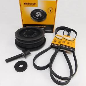 Contitech-Kit-Riparazione-Puleggia-Cinghia-Per-BMW-E46-320d-fino-A-Anno-09-04