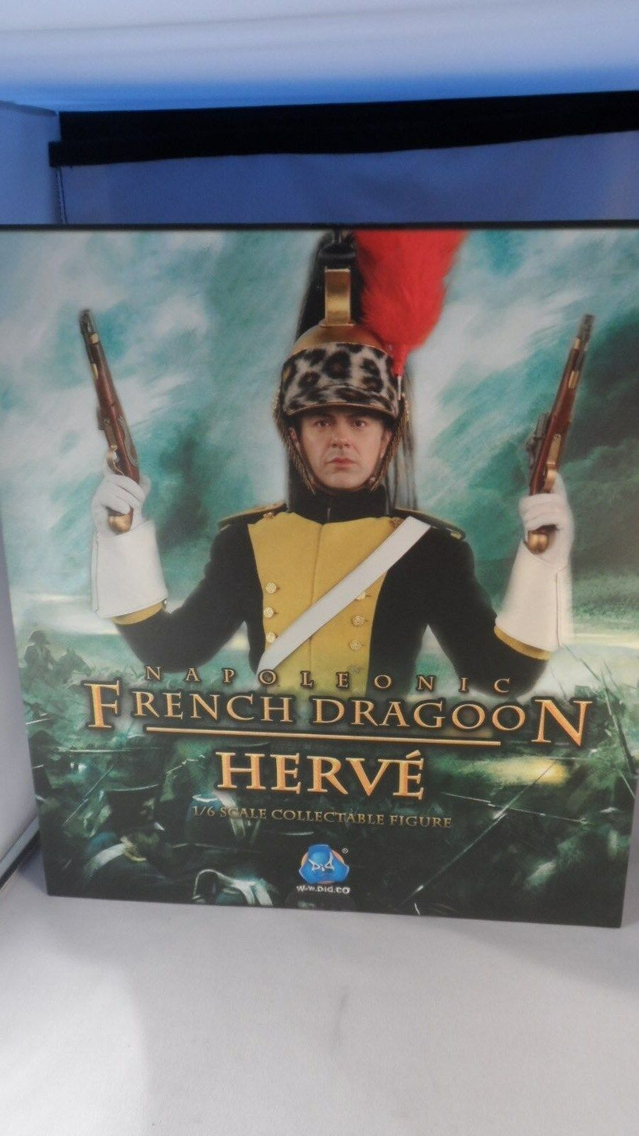 DID Action Figures - 1//6 Scale Metal Herve French Dragoon Cavalry Helmet