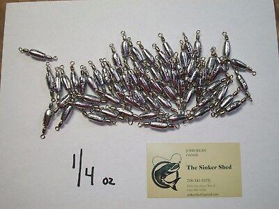 1//2 oz Trolling pesées avec #7 Nickel Crane émerillons Choisir Quantité-Gratuit Livraison