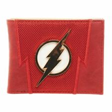 UFFICIALE DC COMICS IL FLASH Premium tute bi-fold Portafoglio con Logo in Metallo