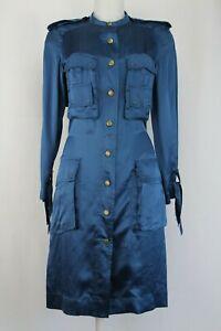 Lanvin-Long-Sleeve-Silk-Safari-Dress-Size-UK-8-EU-36-US-4