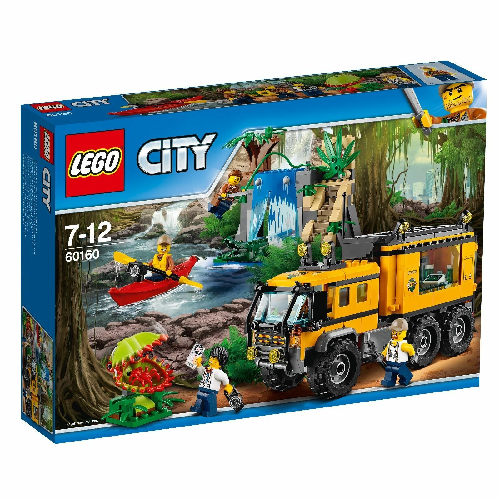 LEGO® City 60160 Mobiles Dschungel-Labor  NEU OVP_ Jungle Mobile Lab NEW MISB