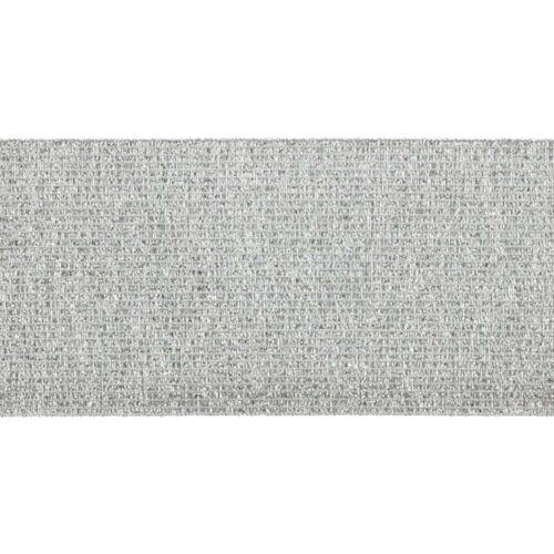 60 mm Silber Zierband 1 Meter Elastikband Gold Gummiband Lurex