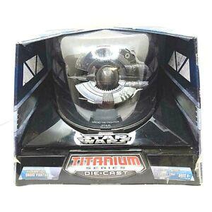 STAR-WARS-Federation-Droid-Fighter-Titanium-Series-Die-Cast-Large-SEALED