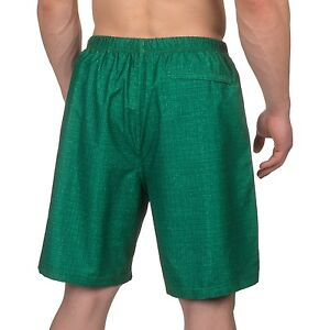 9d24df290a495 RBX Gym 'N Swim Men's Compression Lined Bathing/Fitness Trunks/Shorts M Grn  NWT!