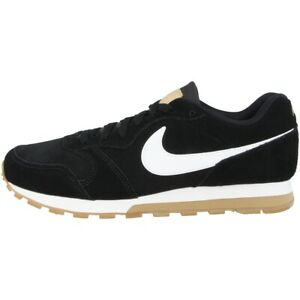 Nike-Md-Runner-2-Suede-Casual-Shoes-Trainers-Running-Black-White-AQ9211-001