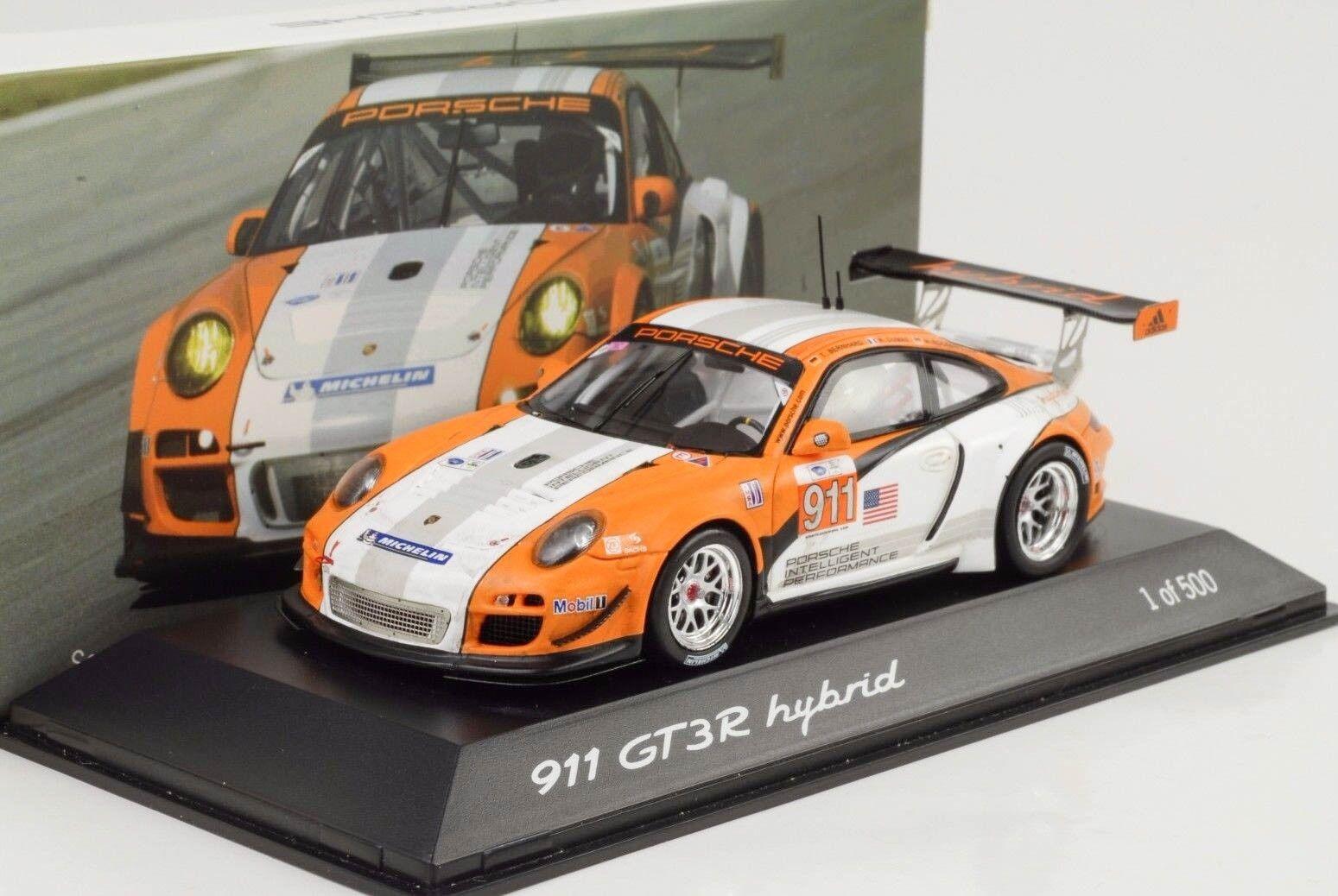 2010 Porsche 911 997 gt3 R Hybrid Testcar Atlanta septembre 1:43 Spark Musée | Digne  | Attrayant Et Durable  | Nombreux Dans La Variété