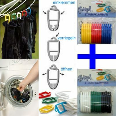 Other Home Cleaning Supplies Discreet Supi Sockenklammern Sockenclips Stoffschonend 45 Stück