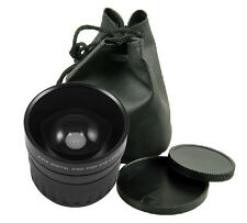 58mm 0.21x Fisheye Lens fisheye for Nikon Canon  Sony DSLR Camera New