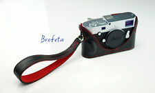 Brofeta hand strap for LEICA/SONY/FUJIFILM/NIKON cameras Itlay leathar Handmade.