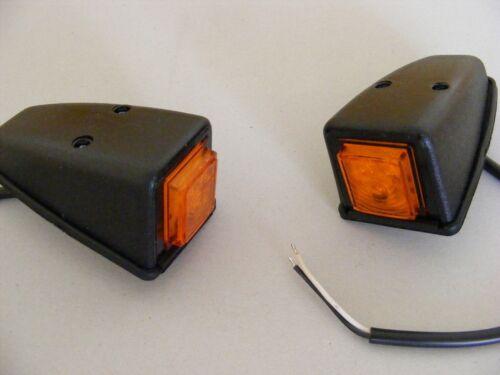 2 X avant Led Ambré Feux Cabine Toit Porte Marquage Latéral Lampes DAF Man