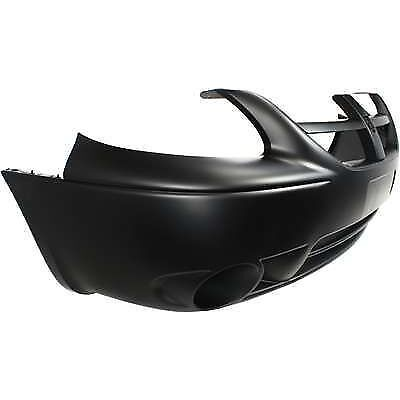 Primered Front Bumper Cover W// Fog Light Hole Fits Grand Caravan CH1000430