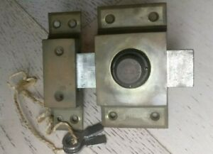 Verrou-ancien-a-pompe-de-securite-JM-incrochetable-en-laiton-et-acier-2-cles