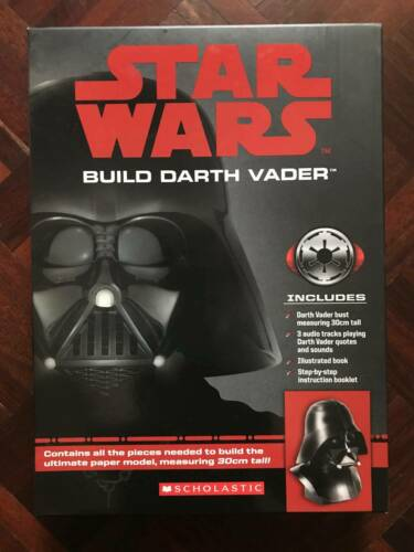 Star Wars Build Darth Vadar Paper Model with Audio