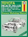 Toyota Hi-Lux / Hi-Ace Owner's Workshop Manual by Haynes Publishing Group (Paperback, 2013)