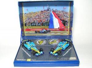 Set-Renault-f1-Team-r25-constructeurs-worldchampion-2005-1-43-Minichamps