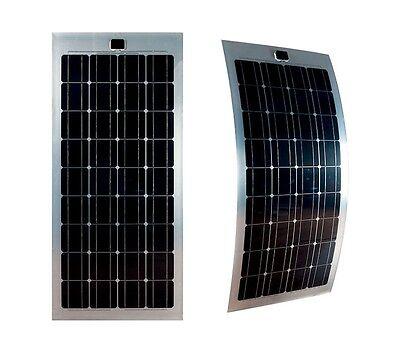 Flexibles Solarmodul Solarpanel Flexible Flexibel 100W 12 V Mono Wohnmobil WOMO