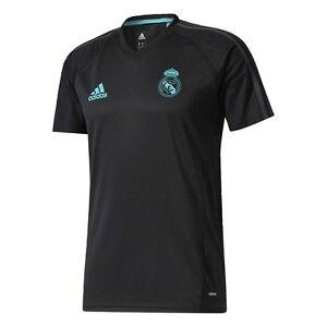 Adidas Real Madrid FC 2017 - 2018 Entrenamiento Fútbol Jersey ...