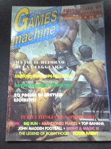 THE GAMES MACHINE 40 Marzo 1992 no zzap XENIA MITH 2 MIGHT & MAGIC ROGER RABBIT - Italia - THE GAMES MACHINE 40 Marzo 1992 no zzap XENIA MITH 2 MIGHT & MAGIC ROGER RABBIT - Italia