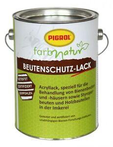 Pigrol-Beutenschutz-Lack-0-375-l-gruen-Beutenfarbe-50-40-Euro-Liter