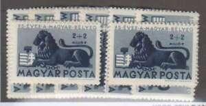 A7245-8-Hungary-B188-191-Mint-OG-NH-LH-CV