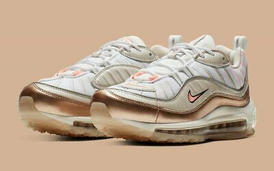 Details about NIKE AIR MAX 98 ROSE GOLD WOMEN'S SIZE 8.5 NEW WITHOUT BOX !!!!