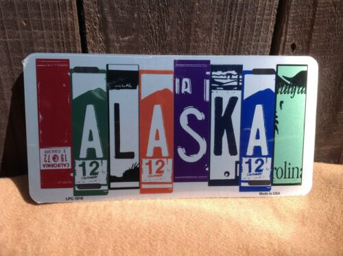 Alaska License Plate Art Wholesale Novelty Bar Wall Decor