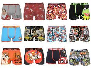 troncs de Homme Shorts Boxer caractere Nouveaute Cartoon 4Bwwq7x