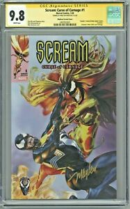 Scream-Curse-of-Carnage-1-CGC-9-8-SS-Signed-Mike-Mayhew-Variant-Cover-Edition