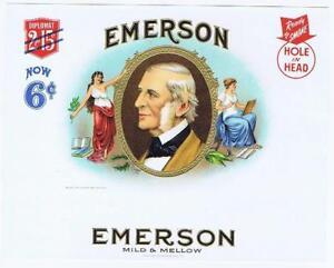 Emerson DWS Cigare Company Consolidé Litho Dossier Même Interne Boîte Étiquettes CYt9xaew-09085430-591966755