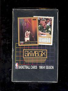 1990-91-Skybox-SERIES-1-NBA-Basketball-Box-New-Factory-Sealed-MICHAEL-JORDAN