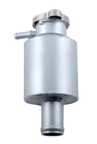 Universal Aluminum Radiator Coolant Expansion Overflow Tank Bottle W//Cap Silver