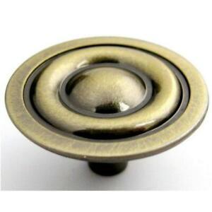 Brainerd P635bcv Ab Antique Brass Three Rings Kitchen Cabinet Knob 781266134905 Ebay
