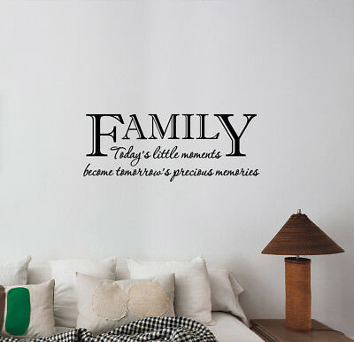 Family Or Spouse Wall Decal Entryway, Living Room Wall Decals