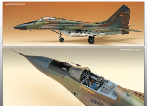 Academy 1//48 USSR MiG-29A Fulcrum Plastic Model Kit 12263