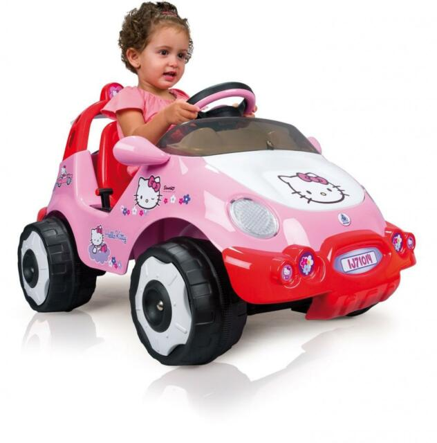 hello kitty electric car ride on