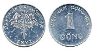 1971 1 Dong UNC Vietnam South KM12