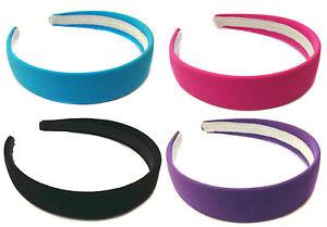 Velvet-Suede-Alice-Band-Headband-Hair-Band-Girls-Ladies-Hair-Accessory