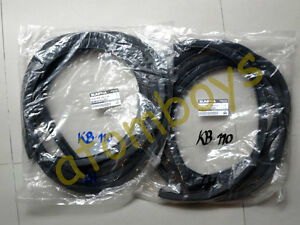 DATSUN-Sunny-b110-1200-kb110-coupe-door-seal-rubber-weatherstrip-pair-left-right