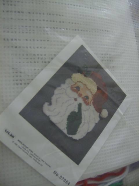 Titan Santa Plastic Canvas Kit, 1990 #07054